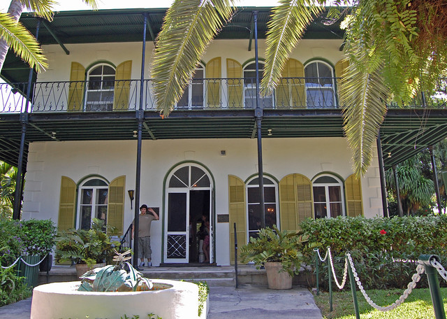Most Haunted Places in Key West: #4 Ernest Hemingway Home - Photo