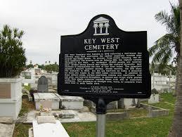 key west cemetery marker