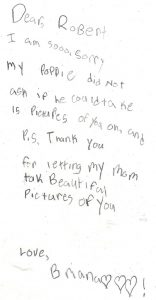 a child's letter to robert the doll