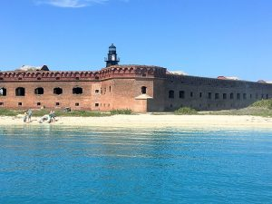 Fort Jefferson in The Dry Tortugas – ghost, goblins and assassins in paradise. - Photo